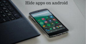 hide apps on android