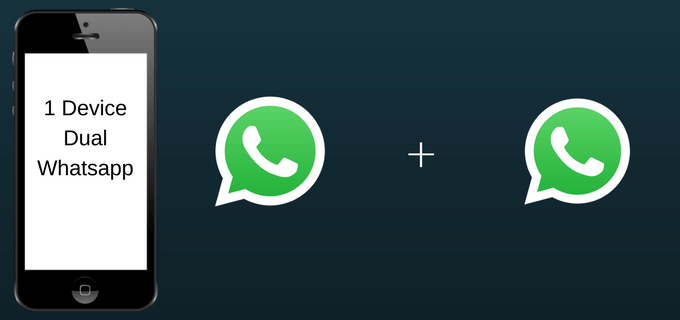 How to use Dual WhatsApp Account in a Single Device 2018?